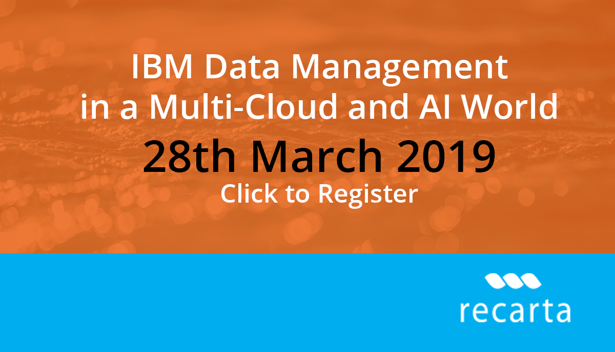 IBM Multi Cloud And AI Event 28th March 2019, London