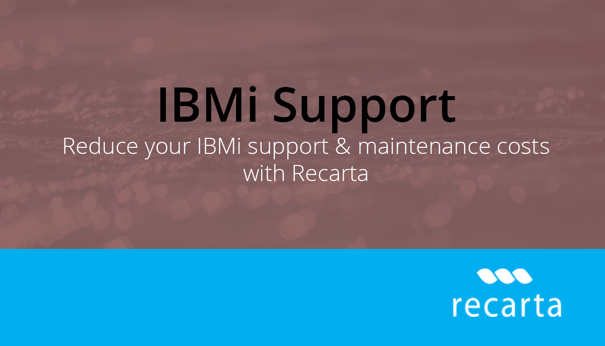 IBMi Support